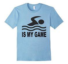 Mens Swimming Is My Game T-Shirt 2XL Baby Blue Sports Stu... https://www.amazon.com/dp/B071SGG1FV/ref=cm_sw_r_pi_dp_x_-PWjzbY87W6GS