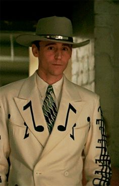 Mr. Hiddleston as Hank Williams in 'I Saw the Light'.