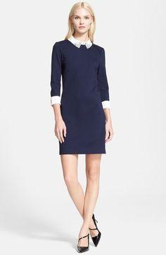 Ted Baker London 'Eelah' Embellished Collar Shift Dress available at #Nordstrom