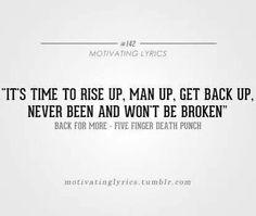 Back for more- Five Finger Death Punch