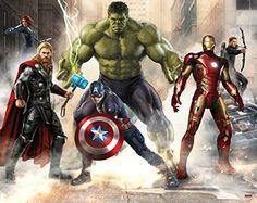 Walltastic Avengers Age of Ultron Wall Mural 2.44m x 3.05m