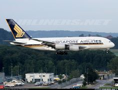 Singapore Airlines 9V-SKL Airbus A380-841 aircraft picture