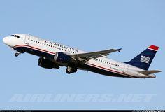 US Airways N122US Airbus A320-214