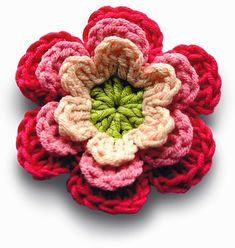 Free Crochet Patterns: Flowers