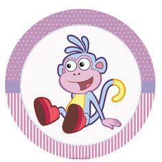Dora Aventureira – Kit festa infantil grátis para imprimir – Inspire sua Festa ®