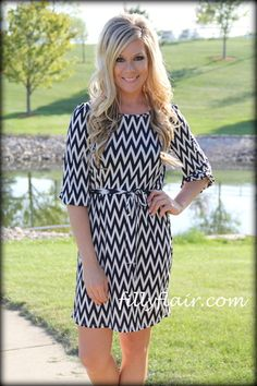 Filly Flair. A Little Bit of Chevron dress. Love.