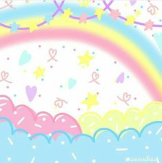 Kawaii Wallpaper, Pastel Wallpaper, Iphone Wallpaper, Pastel Background Wallpapers, Cute Wallpapers, Cute Themes, Pastel Grunge, Landscape Background, Aesthetic Wallpapers