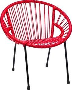 Salon bas scoubidou au jardin mobilier pinterest for Chaise enfant scoubidou