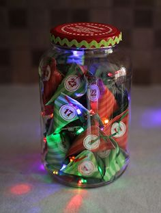 Make an Advent Countdown Jar | About Family Crafts