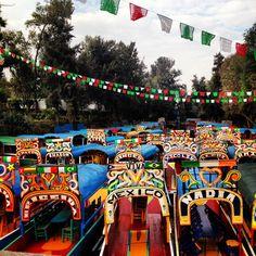 Xochimilco Mexico - fun as a child. Memories with my grandparents 1985