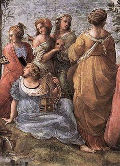The Parnassus, 1509, Raphael