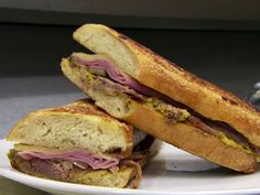 Cuban Sandwich From Restaurant Impossible by Robert Irvine / Food Network