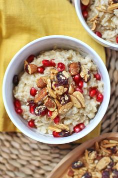 Who doesn't love some delicious Sahale Crunchers (Almonds with Cranberries, Sesame Seeds + Honey) in their morning oatmeal?
