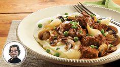 Ragoût de la Saint-Patrick et purée de pommes de terre