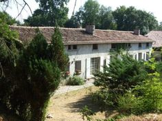 Near Chalais. Spacious character village house in an acre of private grounds.