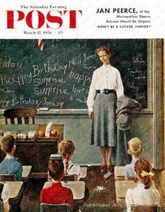 Happy Birthday, Miss Jones March 17, 1956