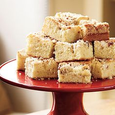 Streusel Coffee Cake | The buttery pecan streusel takes this dessert-like cake from ordinary to extraordinary. Make it a day in advance so it's instantly ready to serve for brunch.