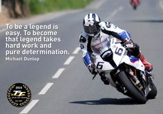 A3 ISLE OF MAN TT RACES INSPIRATIONAL MOTIVATIONAL QUOTE WALL POSTER PRINT #33