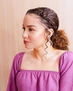relaxed hairstyles hairstyles hairstyles to look younger hairstyles for prom to curly bob hairstyles hairstyles hair style with curly hair Evening Hairstyles, Long Face Hairstyles, Hairstyles With Bangs, 1950s Hairstyles, Gym Hairstyles, Medium Hair Styles, Natural Hair Styles, Short Hair Styles, Medium Curly