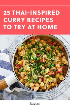 We know you ordered Thai food twice last week. What's stopping you from making your favorite panang curry at home? Put down the takeout menu and try one of these easy Thai recipes instead. Easy Thai Recipes, Thai Curry Recipes, Spicy Recipes, Asian Recipes, Dinner Recipes, Cooking Recipes, Healthy Recipes, Ethnic Recipes, Cooking Food
