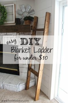 Wohnung Berlin DIY Deckenleiter A Quick Guide to Home Mailboxes Article Body: Everyone in the United Boho Decor Diy, Diy Home Decor Rustic, Farmhouse Decor, Country Farmhouse, Farmhouse Clocks, Country Living, French Country, Diy Ladder, Diy Blanket Ladder