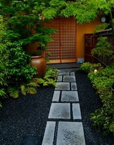 24 Wonderful Zen Garden Design Ideas For Your Small Backyard Asian Garden, Diy Garden, Garden Paths, Garden Projects, Garden Gazebo, Terrace Garden, Garden Stones, Small Japanese Garden, Japanese Garden Design