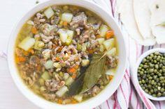 Blesková polievka z mletého mäsa