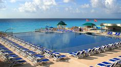 Cancun, Mexico Great Parnassus Resort and Spa infinity pool