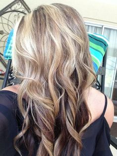 Brown Lowlights And Blonde Highlights