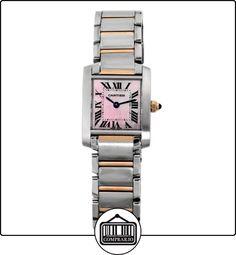 Cartier - Reloj de pulsera mujer, acero inoxidable, color multicolor  ✿ Relojes para mujer - (Lujo) ✿