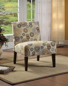 Aberly Espresso Accent Chair 59069