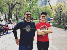 Fred & Nick, Madison Square Park