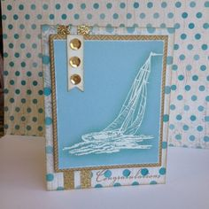 Create with Liz: Seaside Cards