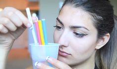 Sie legt Buntstifte in einen Becher mit heissem Wasser. Schau, wie sie 6 Minuten später aussieht. | LikeMag