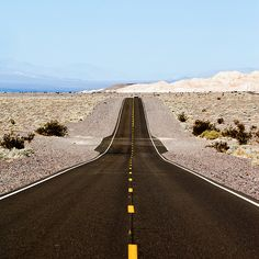 Death  Valley (by Thomas Hawk)  I would love to drive down this road with in my Jeep with the top down!