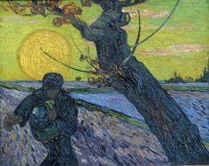 Van Gogh - De Zaaier (1888)