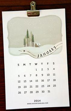 Hora de recomeçar. Para não perder o timing, selecionamos diversos calendários legais para você baixar, imprimir e se organizar!