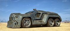 Concept Truck by Farrukh Abdur far Cool Trucks, Cool Cars, Zombie Vehicle, Solar Powered Cars, 6x6 Truck, Future Trucks, Image Digital, Futuristic Cars, Diesel Trucks