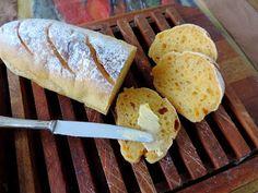 come-se: Quinta sem trigo. Pão de mandioca