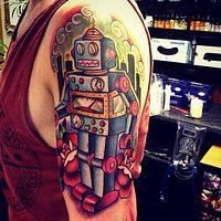 Done by Rich Warburton. Rate & review tattoo studios and artists at TattooStage.com #tattoo #tattoos #Ink