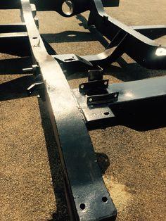 Restored original chassis. Land Rovers, Restoration, The Originals