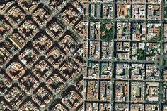 """Urban Networks: Rompiendo moldes: Barcelona y Madrid se """"ensanchan"""": el Eixample de Cerdà y el Plan Castro (Paralelismos y Divergencias entre Madrid y Barcelona, 6)"""
