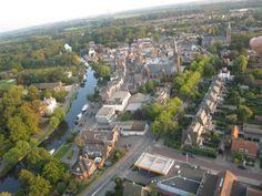The village seen from a plain, Breukelen