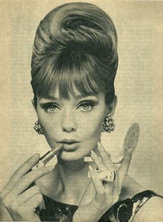 Todays 1960s hair & make up Inspiration