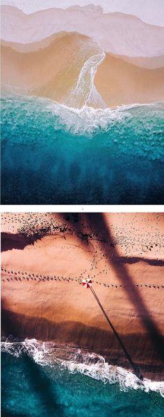 Drone Photographer Captures Stunning Aerial Photos of South Australias Coast - Drones - Ideas of Drones - Photographer Bo Le captures stunning photos of South Australia // drone photography // aerial photography Photography Series, Ocean Photography, Aerial Photography, Landscape Photography, Travel Photography, Photography Ideas, Summer Nature Photography, Photography Courses, Photography Editing