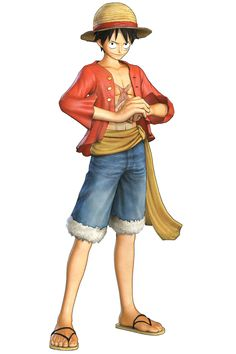Monkey D. Luffy - Characters & Art - One Piece: Pirate Warriors 2