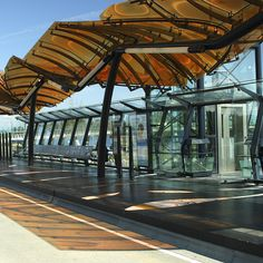 1000 images about canopy on pinterest bus station for Modern building canopy design