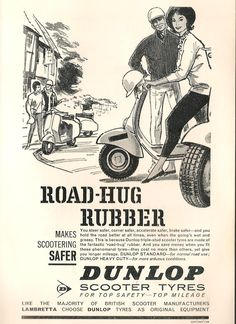 Dunlop Scooter Tyres - Vespa