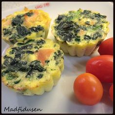 Madmuffins med spinat og laks - Et madpakke hit!