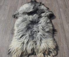 Schapenvacht schapenvel 1625 grijs 130cm +